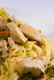 Spagetti with meat Stock Photography