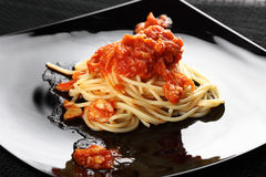 Spagetti tomato Royalty Free Stock Photography