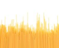 Spagettinudelbakgrund Arkivbild