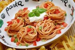 Spagettis Στοκ Εικόνες