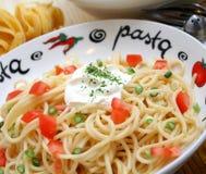 Spagettis Royalty Free Stock Photo