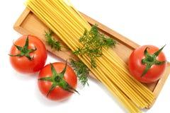 spagettitomat Royaltyfri Bild