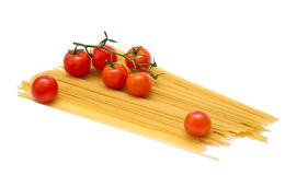 spagettitomater Royaltyfri Foto