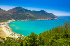 Spaggia di Solanas, Sardinia, Italy Stock Photos