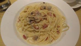 spaghetticarbonara Zdjęcia Stock