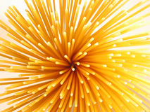 Spaghetti épineux Images libres de droits