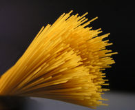 Spaghetti. Italian spaghetti close-up Stock Image