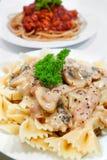 spaghetti 07 serii Obrazy Stock