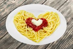 spaghetti Photos libres de droits
