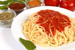 Spaghetti Photo stock