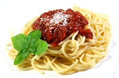Spaghetti Royalty Free Stock Images
