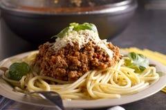 Spaghetti Royalty-vrije Stock Foto's