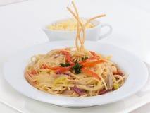 Spaghetti Stock Foto