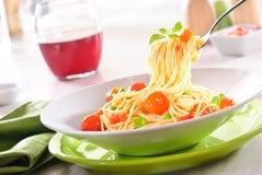 Spaghetti Stock Fotografie