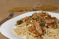 spaghetti Photos stock