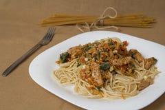spaghetti photo stock