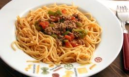 spaghetti Fotografia Royalty Free
