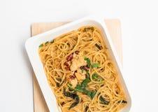 spaghetti Royalty-vrije Stock Fotografie