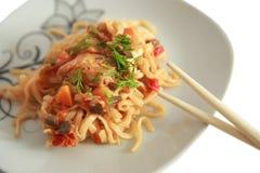 spaghetti fotografie stock