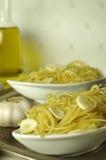 Spaghetti aglio e olio Zdjęcia Stock