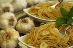 Spaghetti aglio e olio Obraz Royalty Free