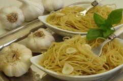Spaghetti aglio e olio Obraz Stock