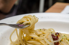 Spaghetti Aglio E Olio Stock Photos