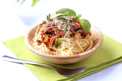 Spaghetti alla Bolognese Royalty Free Stock Photos