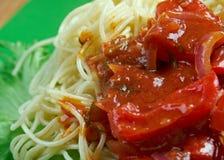 Spaghetti alla carrettiera Fotografia Royalty Free