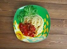 Spaghetti alla carrettiera Obraz Royalty Free
