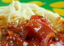 Spaghetti alla carrettiera Fotografia Stock