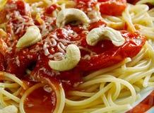 Spaghetti alla corsara obrazy stock
