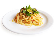 Spaghetti Alla Norma Royalty Free Stock Images