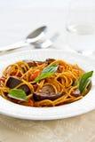 Spaghetti alla Norma Stock Photos
