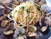 Spaghetti alle vongole Stock Image