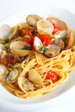 Spaghetti alle vongole Royalty Free Stock Photography