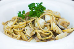 Spaghetti alle vongole Stock Photo