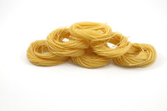 Spaghetti anioła włosy Obrazy Stock