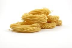 Spaghetti anioła włosy Obraz Royalty Free