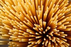 Spaghetti background. Abstract spaghetti background of raw pasta Stock Photo