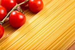 Spaghetti background Stock Photos