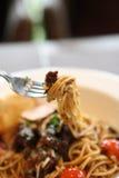 Spaghetti beef bolognese Stock Photos