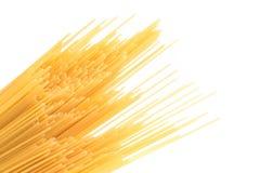 Spaghetti bias on the white background. Stock Images