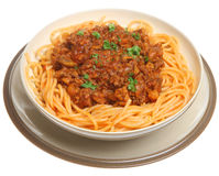 Spaghetti Bolognaise Royalty Free Stock Photo
