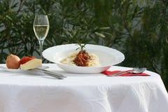Spaghetti bolognaise Royalty Free Stock Photos