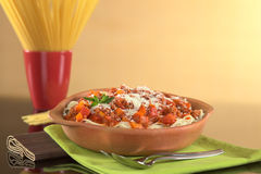 Spaghetti Bolognaise Stock Photos
