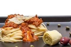 Spaghetti bolognaise Stock Image