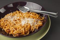 Spaghetti bolognaise Stock Photography