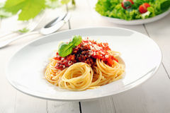 Spaghetti bolognaise Royalty Free Stock Photos