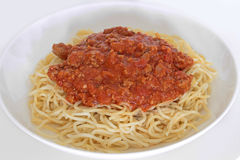 Spaghetti bolognaise Stock Photography